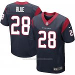 Camiseta Houston Texans Blue Profundo Azul Nike Elite NFL Hombre