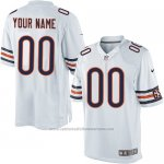 Camisetas NFL Limited Hombre Chicago Bears Personalizada Blanco