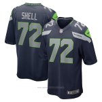 Camiseta NFL Game Seattle Seahawks Brandon Shell Azul