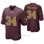 Camiseta NFL Game Washington Redskins Wendell Smallwood Alternato Rojo