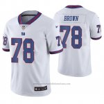 Camiseta NFL Limited Hombre New York Giants Jamon Brown Blanco Color Rush