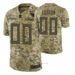 Camiseta NFL Limited Tennessee Titans Personalizada Salute To Service Verde