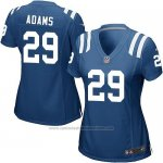 Camiseta Indianapolis Colts Adams Azul Nike Game NFL Mujer