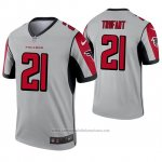 Camiseta NFL Legend Atlanta Falcons 21 Desmond Trufant Inverted Gris
