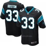 Camiseta Carolina Panthers Boston Negro Nike Game NFL Nino