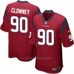 Camiseta Houston Texans Clowney Rojo Nike Game NFL Hombre