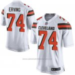 Camiseta Cleveland Browns Erving Blanco Nike Game NFL Hombre