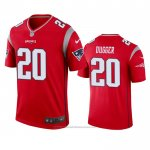 Camiseta NFL Legend New England Patriots Kyle Dugger Inverted Rojo