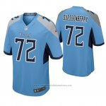 Camiseta NFL Game Hombre Tennessee Titans David Quessenberry Azul Luminoso