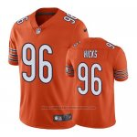 Camiseta NFL Limited Chicago Bears Akiem Hicks Naranja Alternate Vapor Untouchable