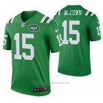 Camiseta NFL Legend Hombre New York Jets Josh Mccown Verde Color Rush