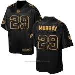 Camiseta Tennessee Titans Murray Negro 2016 Nike Elite Pro Line Gold NFL Hombre
