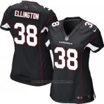 Camiseta Arizona Cardinals Ellington Negro Nike Game NFL Mujer