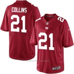 Camiseta NFL Limited 21 Collins Hombre New York Giants Rojo