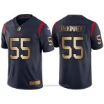Camiseta Houston Texans Mskinney Profundo Azul Nike Gold Legend NFL Hombre