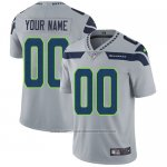 Camisetas NFL Nino Hombre Seattle Seahawks Personalizada Gris
