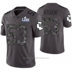 Camiseta NFL Limited Hombre Kansas City Chiefs Anthony Hitchens Gris Super Bowl LIII