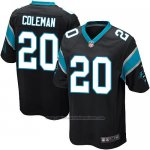 Camiseta Carolina Panthers Coleman Negro Nike Game NFL Nino