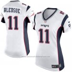 Camiseta New England Patriots Bledsoe Blanco Nike Game NFL Mujer