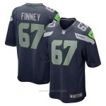 Camiseta NFL Game Seattle Seahawks B.j. Finney Azul