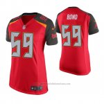 Camiseta NFL Game Mujer Tampa Bay Buccaneers Devante Bond Rojo