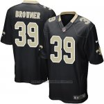 Camiseta New Orleans Saints Browner Negro Nike Game NFL Hombre