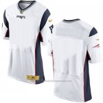 Camiseta New England Patriots Blanco Nike Gold Elite NFL Hombre