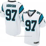 Camiseta Carolina Panthers Addison Blanco Nike Elite NFL Hombre