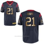 Camiseta Houston Texans Bouye Profundo Azul Nike Gold Elite NFL Hombre