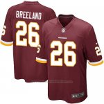 Camiseta Washington Redskins Breeland Rojo Nike Game NFL Marron Nino