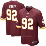 Camiseta Washington Redskins Baker Rojo Nike Game NFL Marron Nino