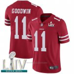 Camiseta NFL Game San Francisco 49ers 11 Marquise Goodwin Rojo