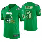 Camiseta NFL Limited Hombre Cleveland Browns Jamie Collins St. Patrick's Day Verde