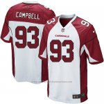 Camiseta Arizona Cardinals Campbell Blanco Rojo Nike Game NFL Hombre