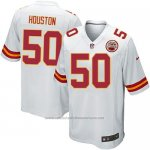 Camiseta Kansas City Chiefs Houston Blanco Nike Game NFL Nino