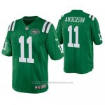 Camiseta NFL Legend New York Jets Robby Anderson Verde Color Rush
