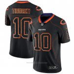 Camiseta NFL Limited Chicago Bears Trubisky Lights Out Negro