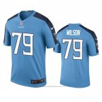 Camiseta NFL Legend Tennessee Titans Isaiah Wilson Azul Color Rush