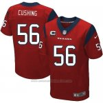 Camiseta Houston Texans Cushing Rojo Nike Elite NFL Hombre