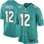 Camiseta Miami Dolphins Griese Verde Nike Game NFL Hombre