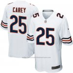 Camiseta Chicago Bears Carey Blanco Nike Game NFL Nino