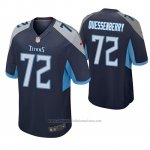 Camiseta NFL Game Hombre Tennessee Titans David Quessenberry Azul