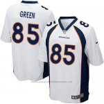 Camiseta Denver Broncos Green Blanco Nike Game NFL Nino