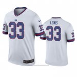Camiseta NFL Legend New York Giants Dion Lewis Blanco Color Rush