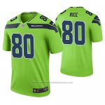 Camiseta NFL Limited Seattle Seahawks Jerry Rice Verde Color Rush