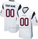 Camisetas NFL Limited Houston Texans Personalizada Blanco
