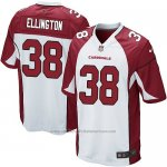 Camiseta Arizona Cardinals Ellington Blanco Rojo Nike Game NFL Hombre