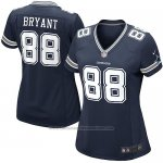 Camiseta Dallas Cowboys Bryant Negro Nike Game NFL Mujer