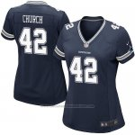 Camiseta Dallas Cowboys Church Negro Nike Game NFL Mujer