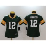 Camiseta NFL Limited Mujer Pittsburgh Steelers 12 Rodgers Verde